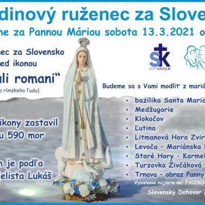 24-hodinový ruženec za Slovensko