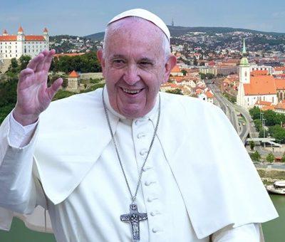 sv.otec František na Slovensku